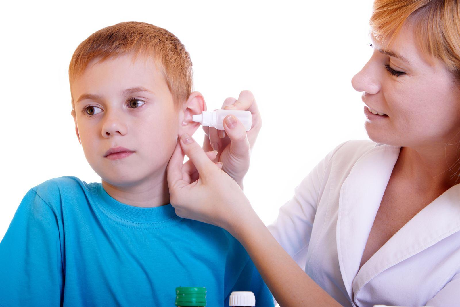 Эффективные ушные капли для детей